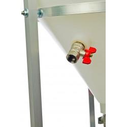 boczny zawór pojemnika stożkowego